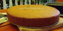 Kakaós tortalap - alaprecept