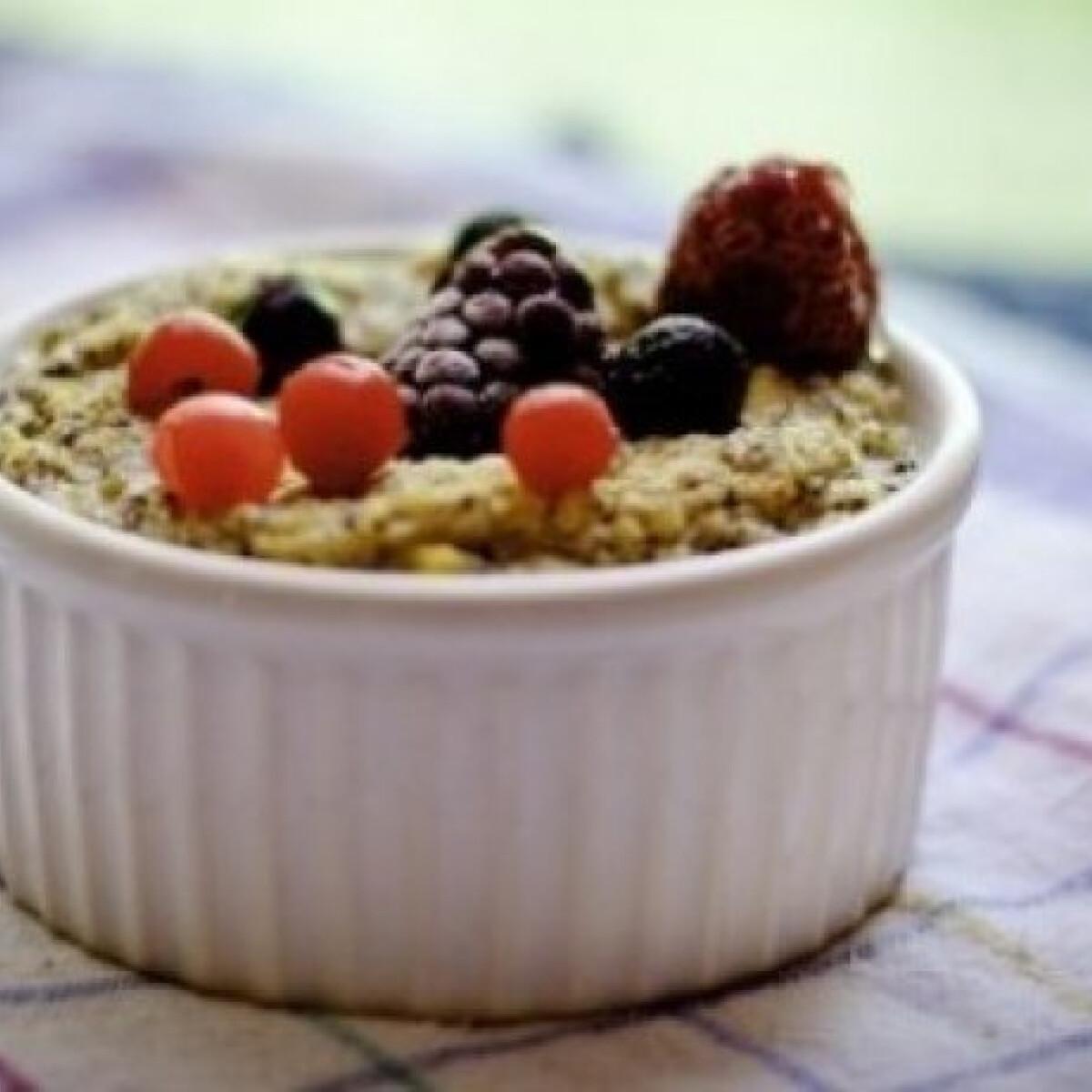 Ezen a képen: Mákos köles reggeli