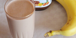 Nutellás banán shake