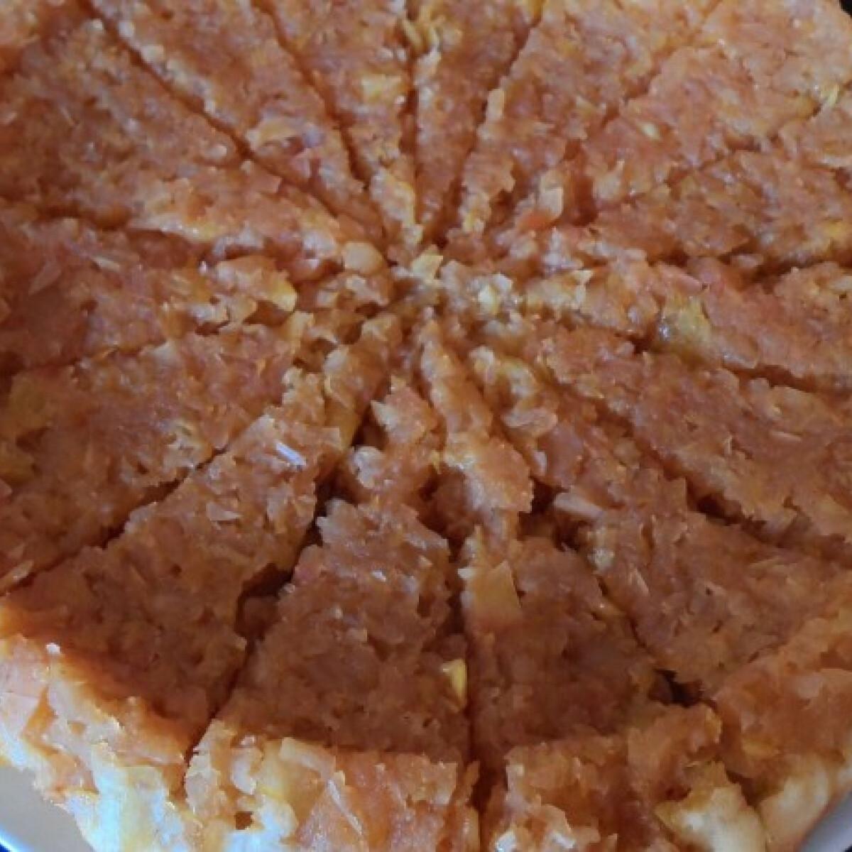 Könnyű almás-barackos pite