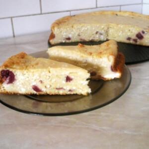 Túrós süti tészta nélkül Gabystól