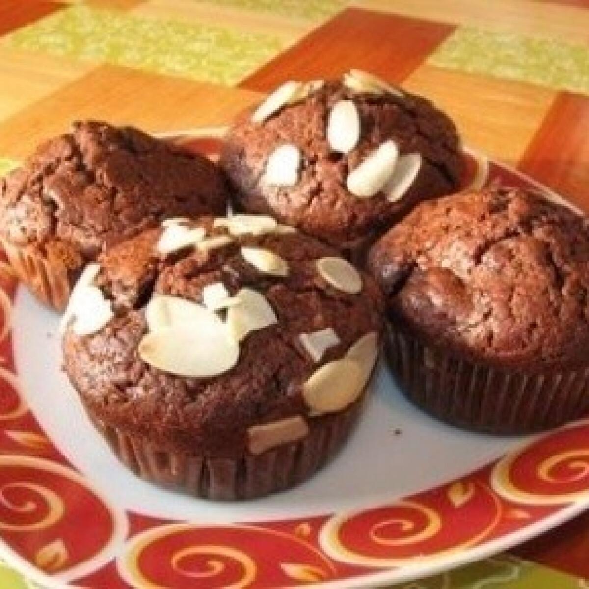 Meggyes-csokis muffin 3.