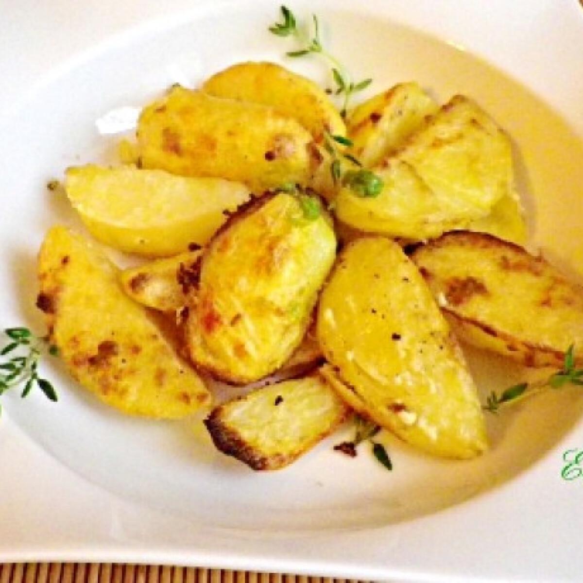 Ezen a képen: Wasabis krumpli