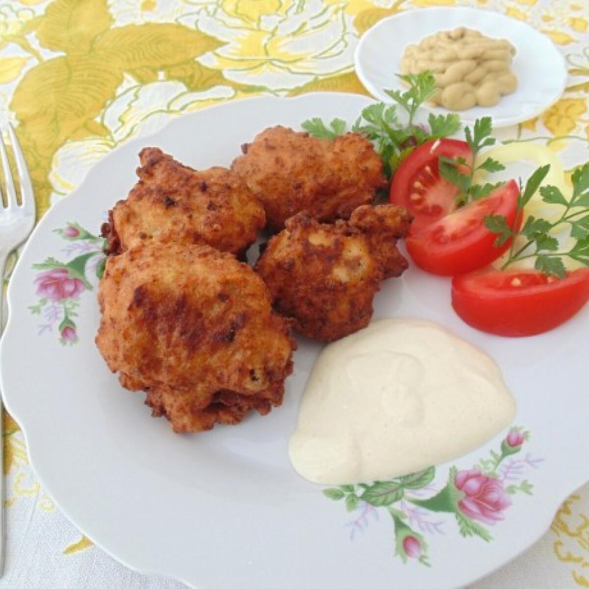 Ezen a képen: Karfiol húsos bundában Lizinka konyhájából
