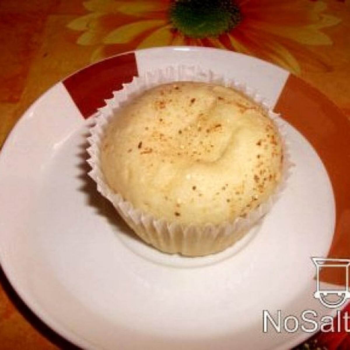 Ezen a képen: Vaníliapudingos muffin
