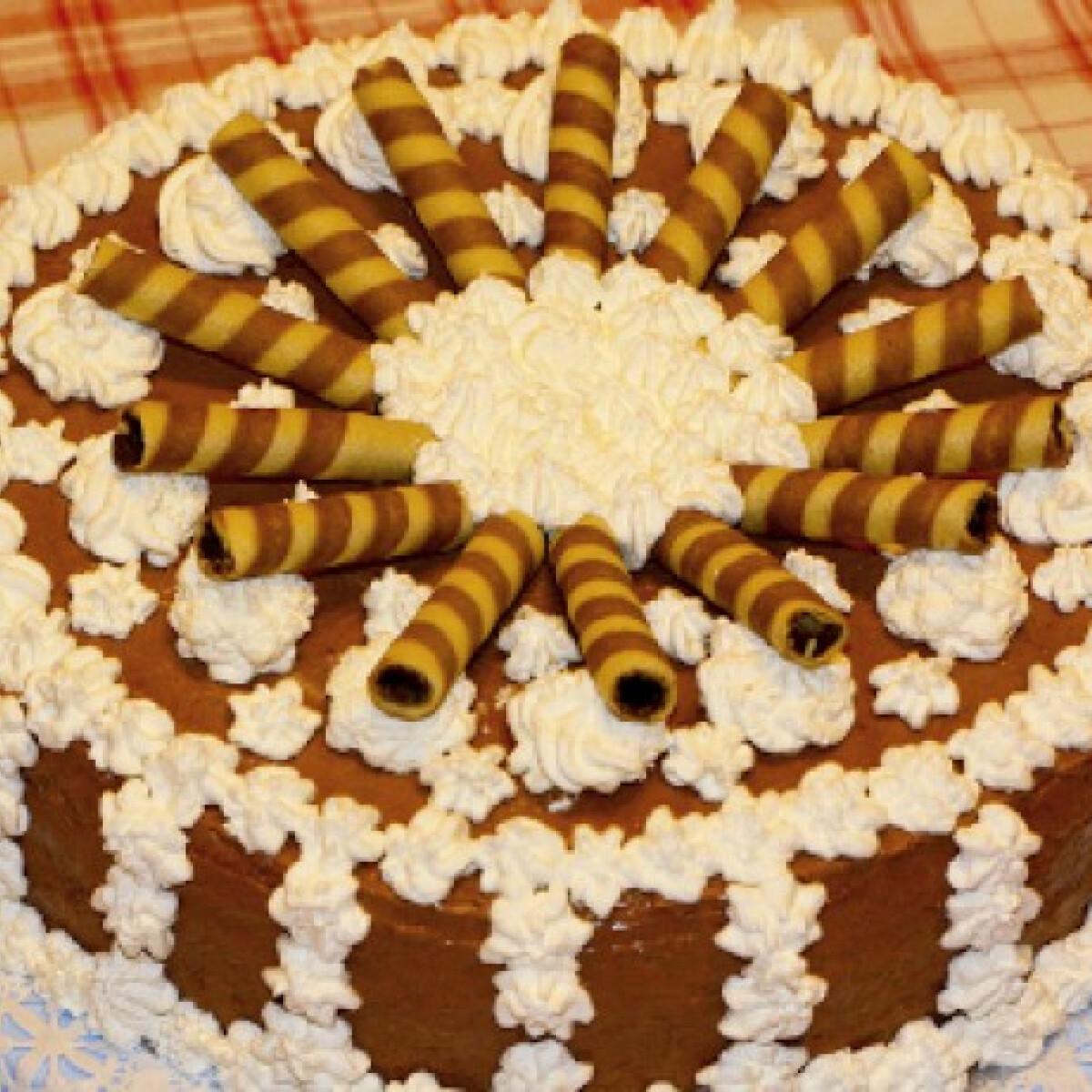 Ezen a képen: Nutellakrémes torta