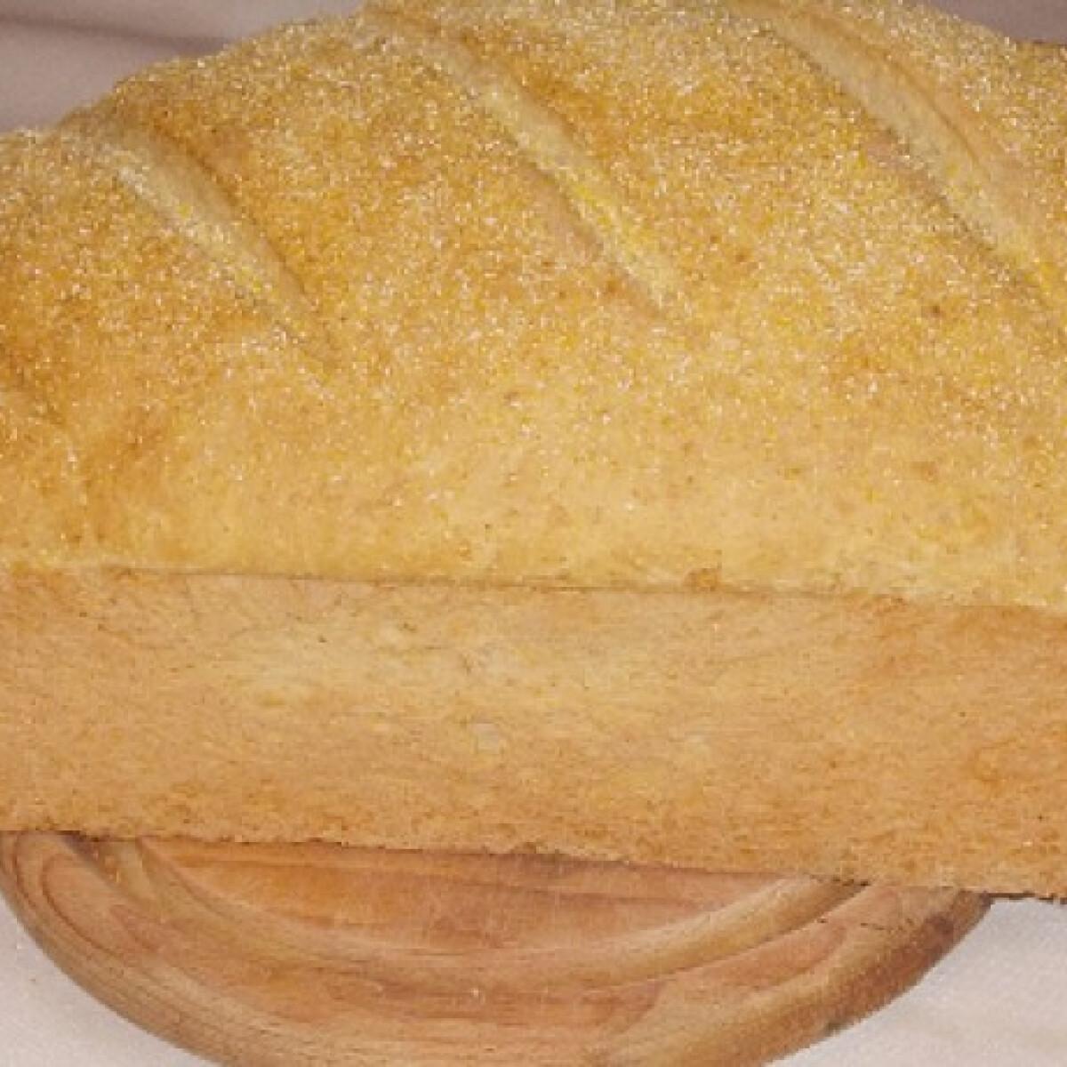 Ezen a képen: Kukoricás kenyér ahogy erikamama készíti