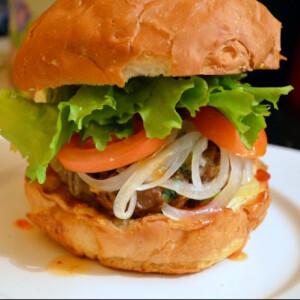 Hoisin burger