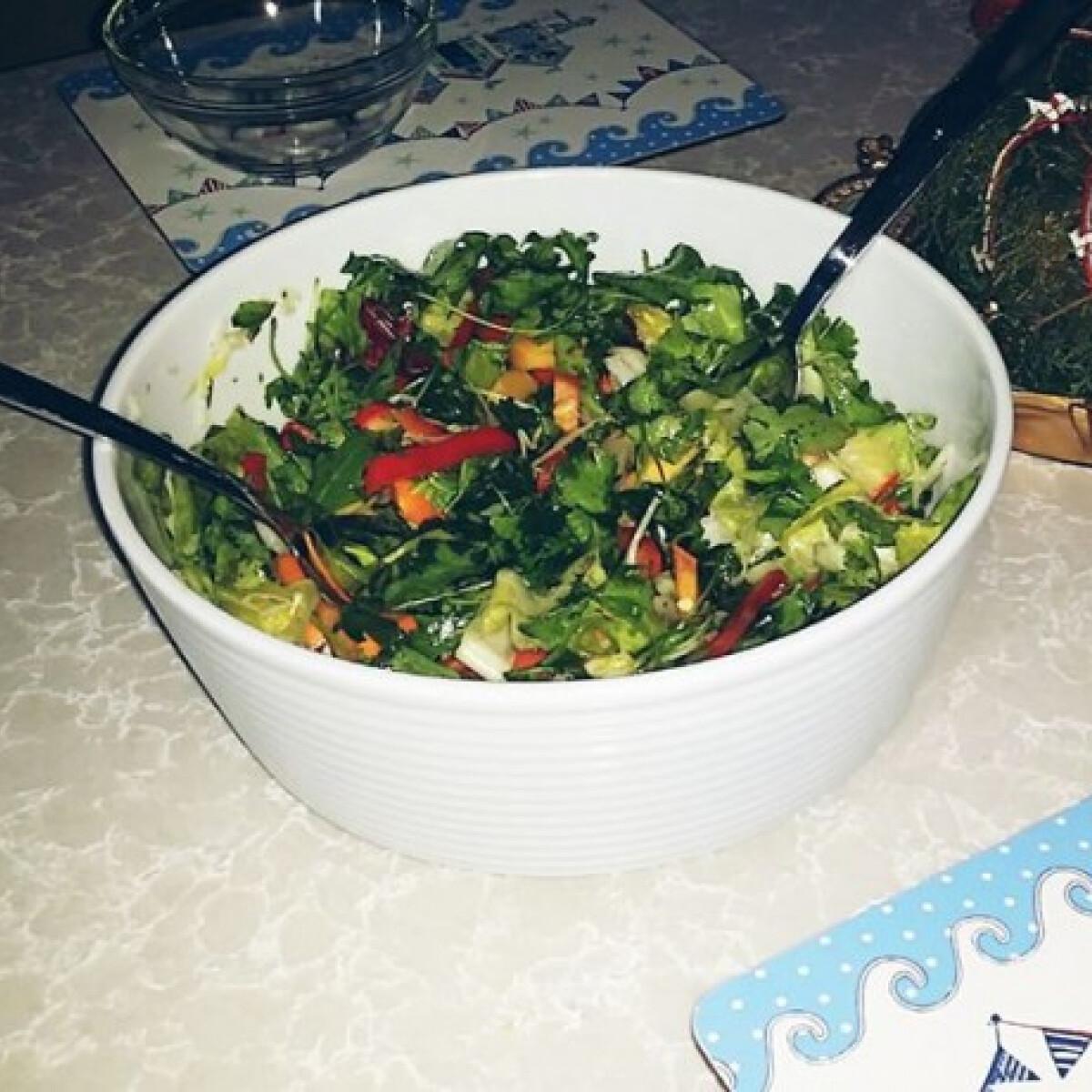 Ezen a képen: Mámor saláta