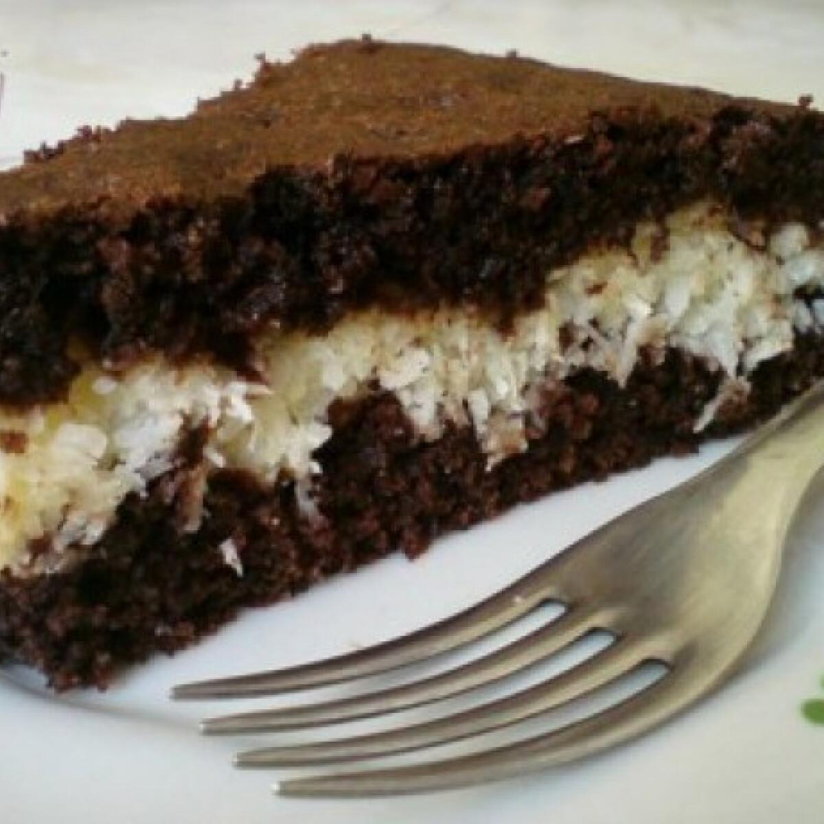 Ezen a képen: Bounty brownie