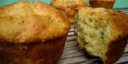 Krumplis-sajtos muffin