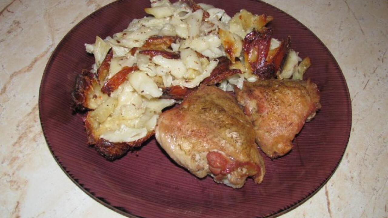 Tésztás csirke provence-i módra
