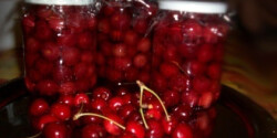 Rumos cseresznyebefőtt