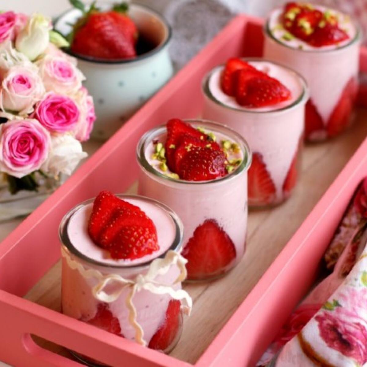 Epres joghurthab Pink.Cékla konyhájából