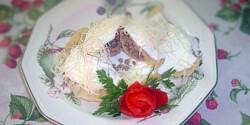 Húsos-gombás ravioli