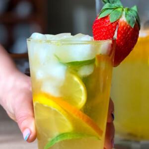 Fenyőszirupos limonádé