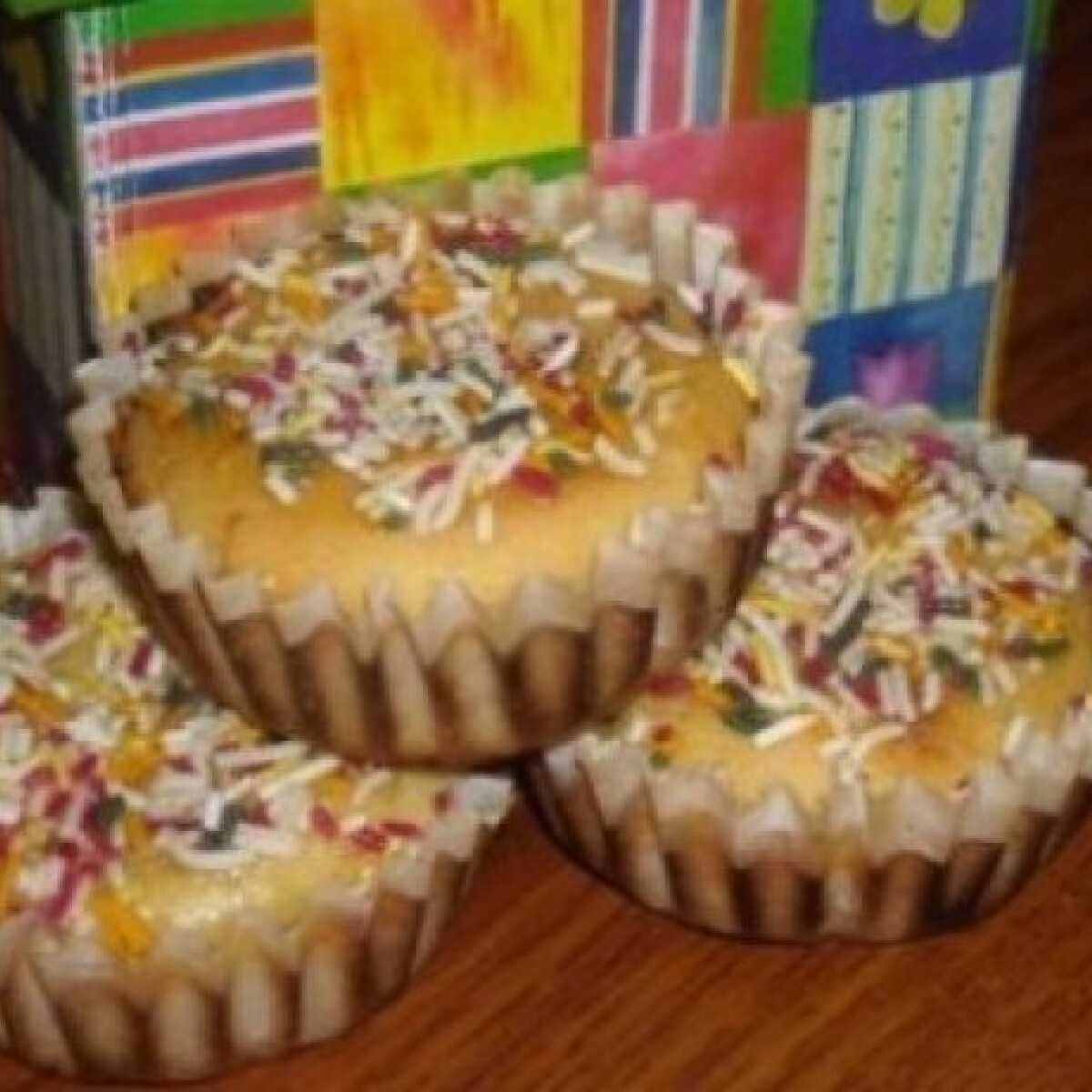 Szórócukros muffin