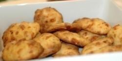 Főzött sajtos tallérok
