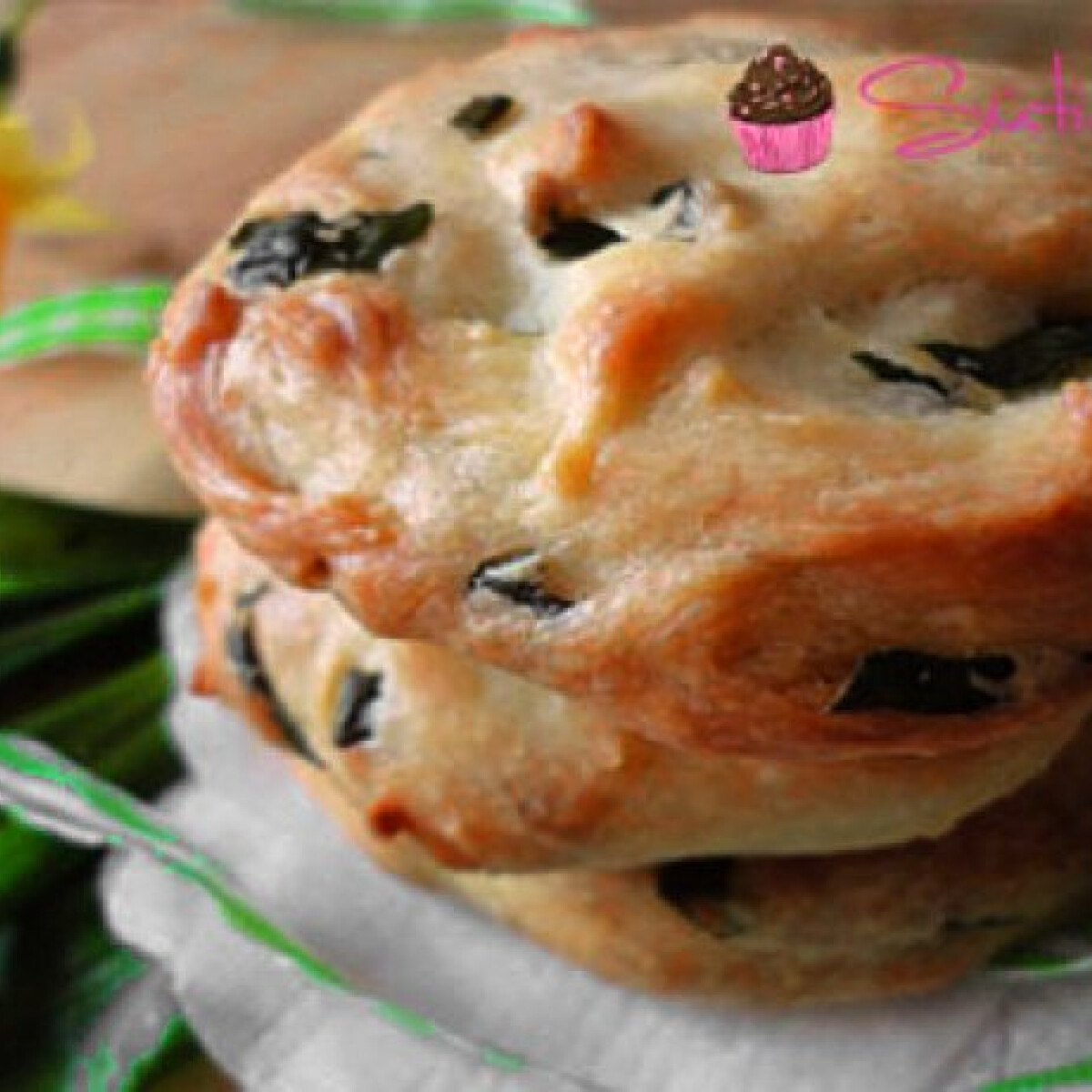 Medvehagymás cookie