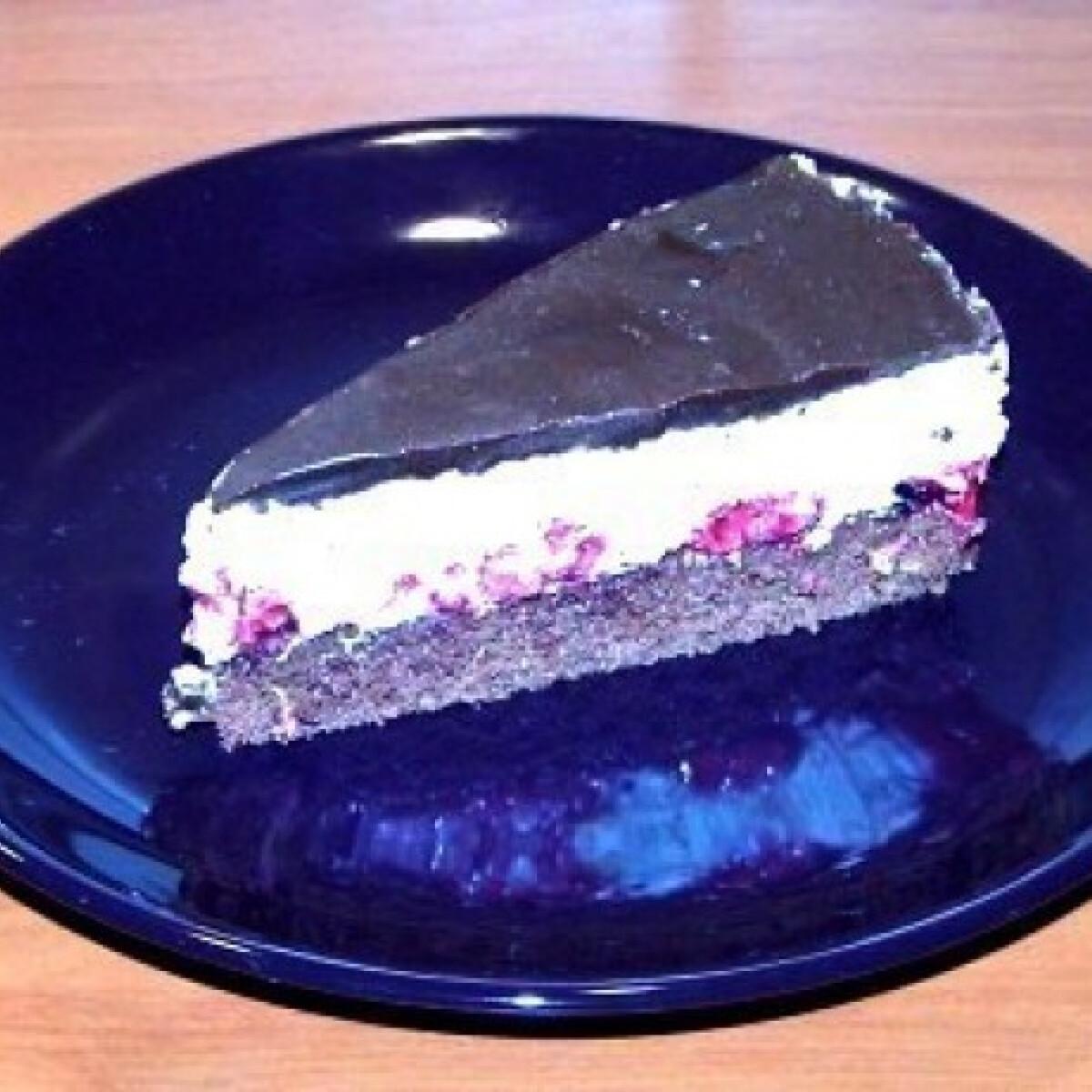Ezen a képen: Túró rudi torta 4. - gyümölcsös