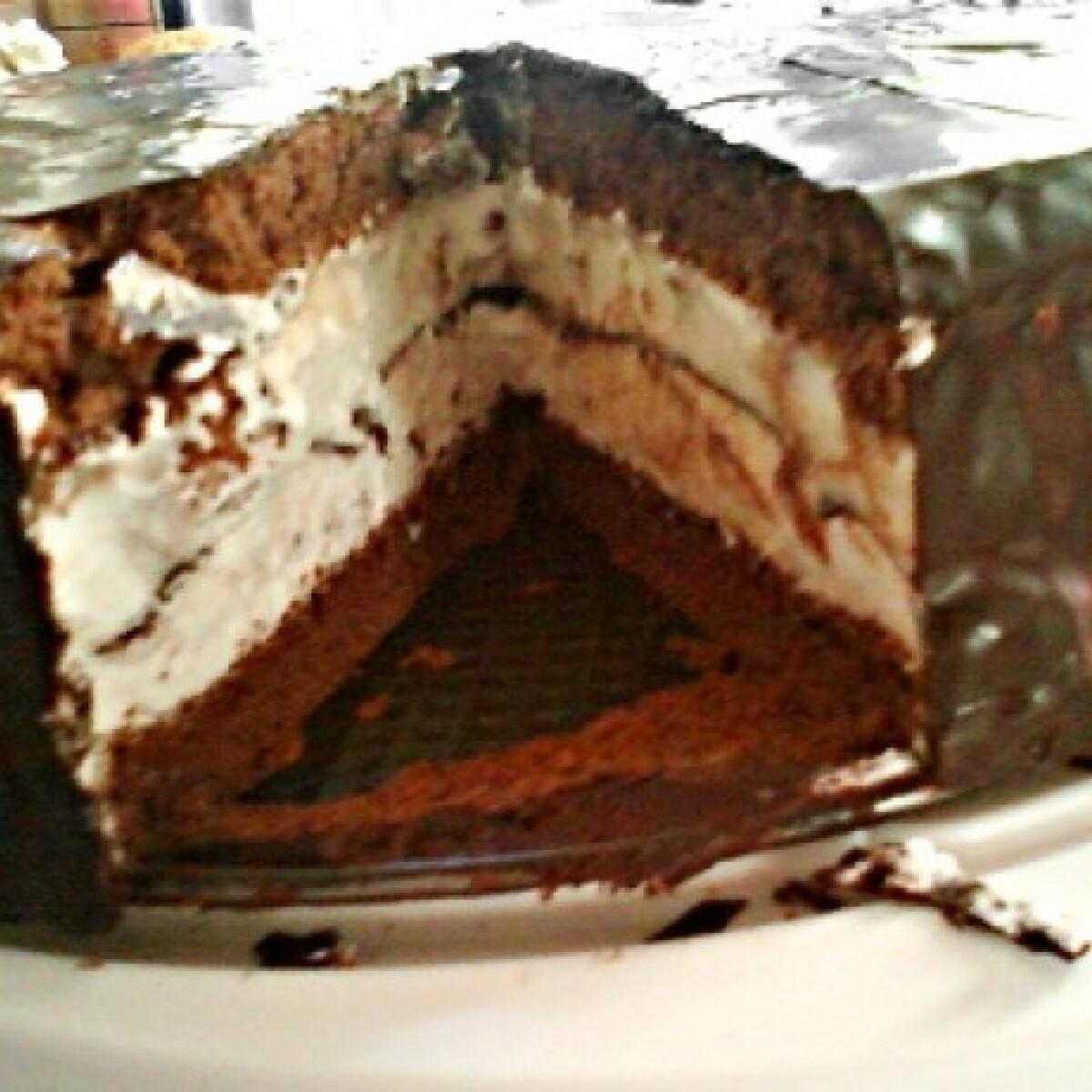 Ezen a képen: Kinder pingui torta Ciccke konyhájából