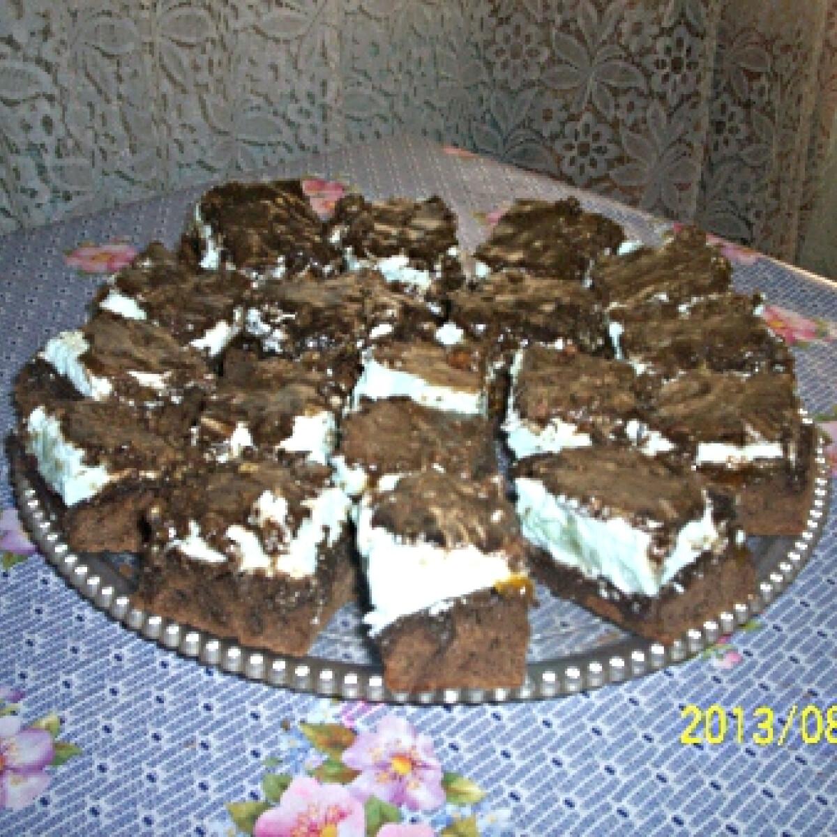 Ezen a képen: Csoki kocka másként Gabimami konyhájából