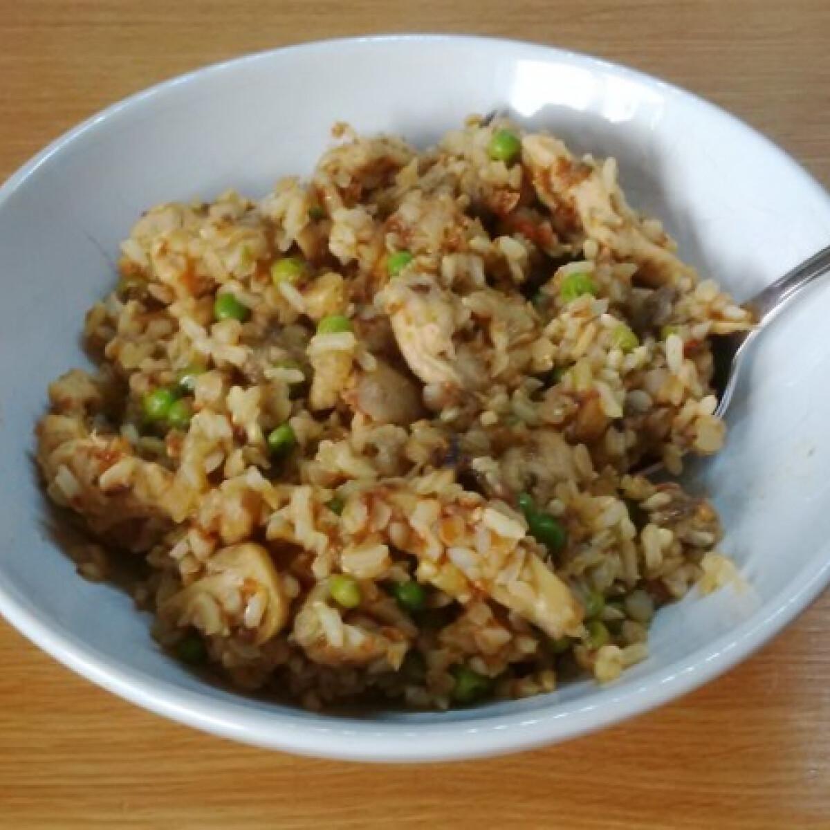 Hajdinás-rizses hús