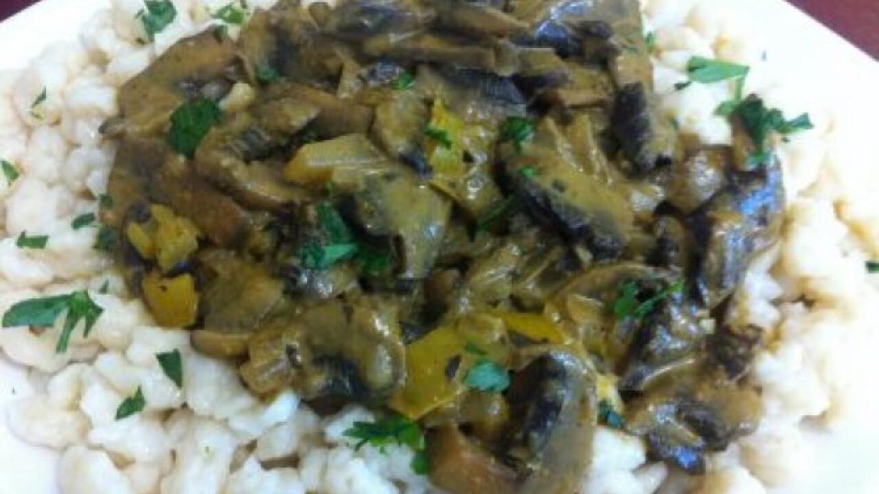 Gomba curry