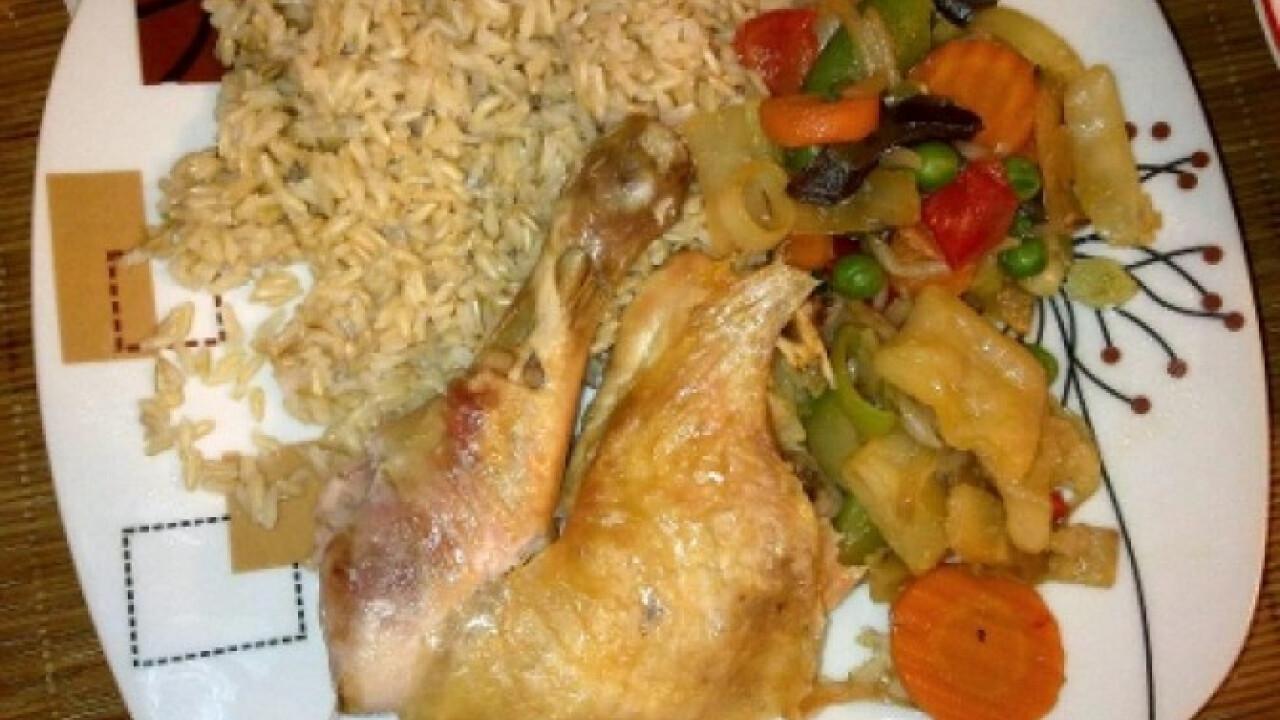 Sóágyon sült csirke Ercsi konyhájából