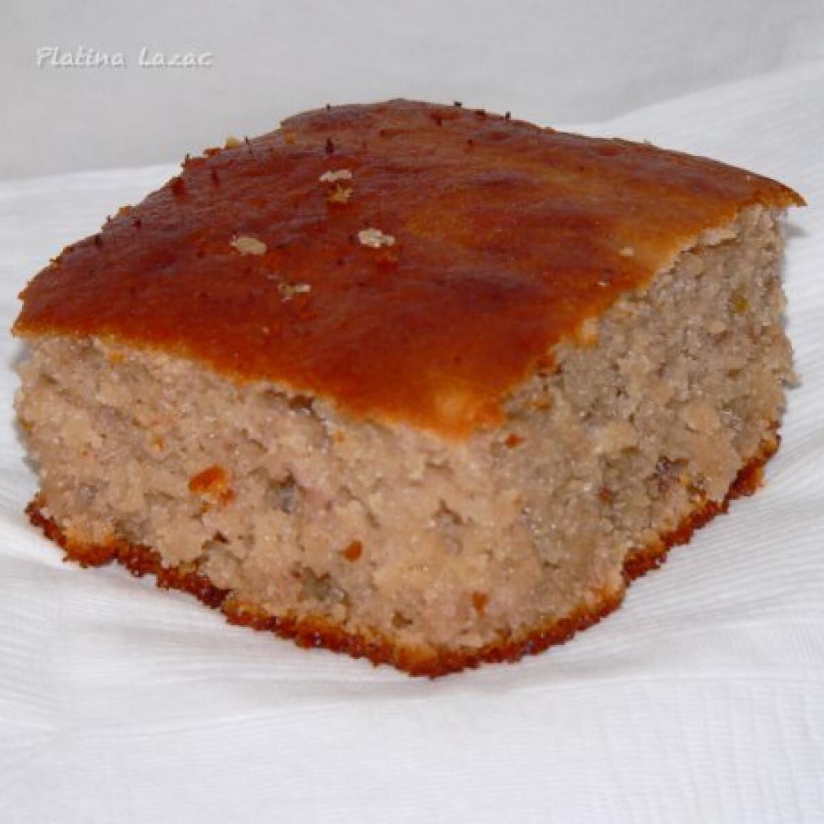 Ezen a képen: Joghurtos süti PlatinaLazac konyhájából