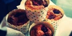 Laktóz- és gluténmentes csokis-málnás muffin