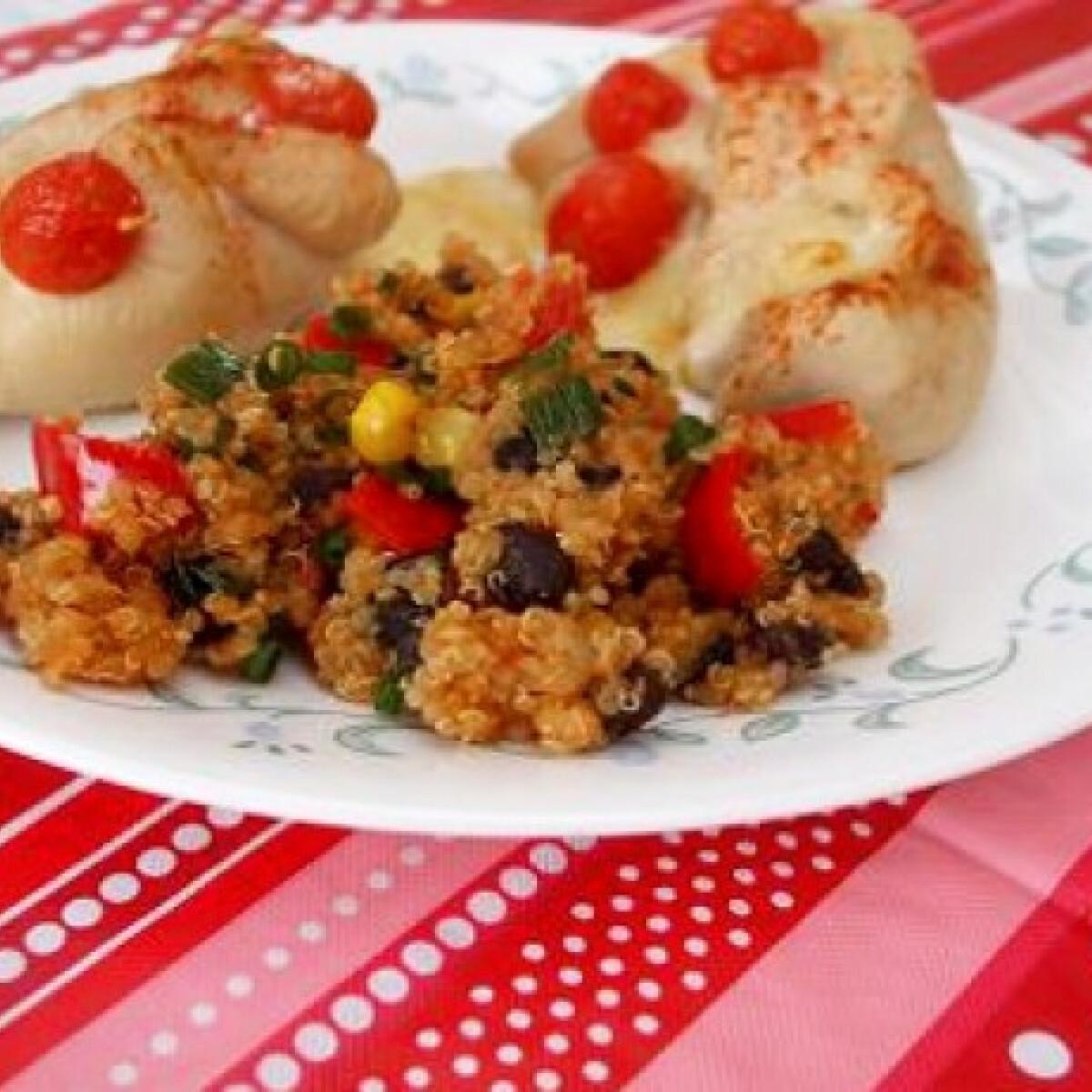 Ezen a képen: Quinoa saláta witch konyhájából