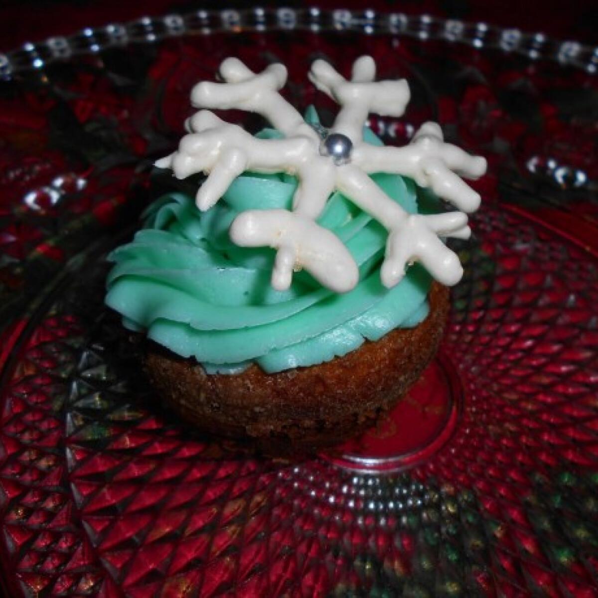 Jégvarázs cupcake