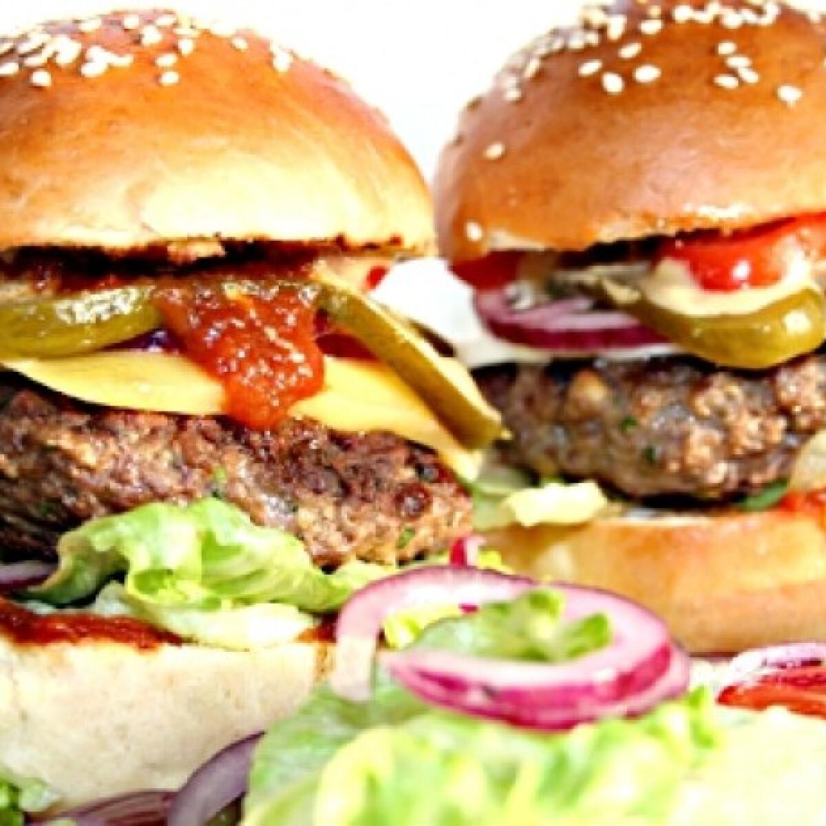 Ezen a képen: Hamburger Jamie Olivertől