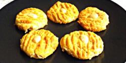 Marcipános keksz Évi nénitől