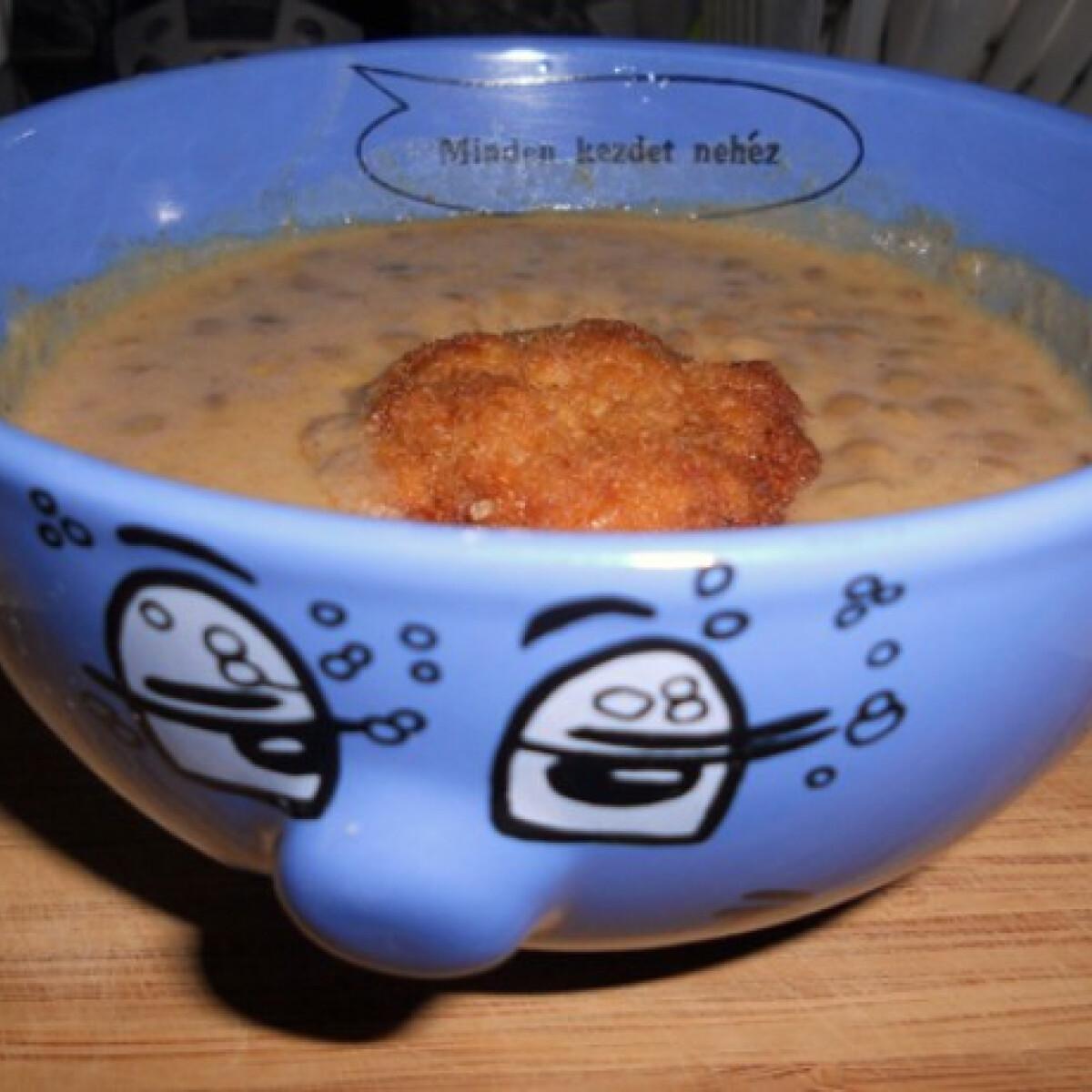 Ezen a képen: Lencsefőzelék Tomatotree konyhájából