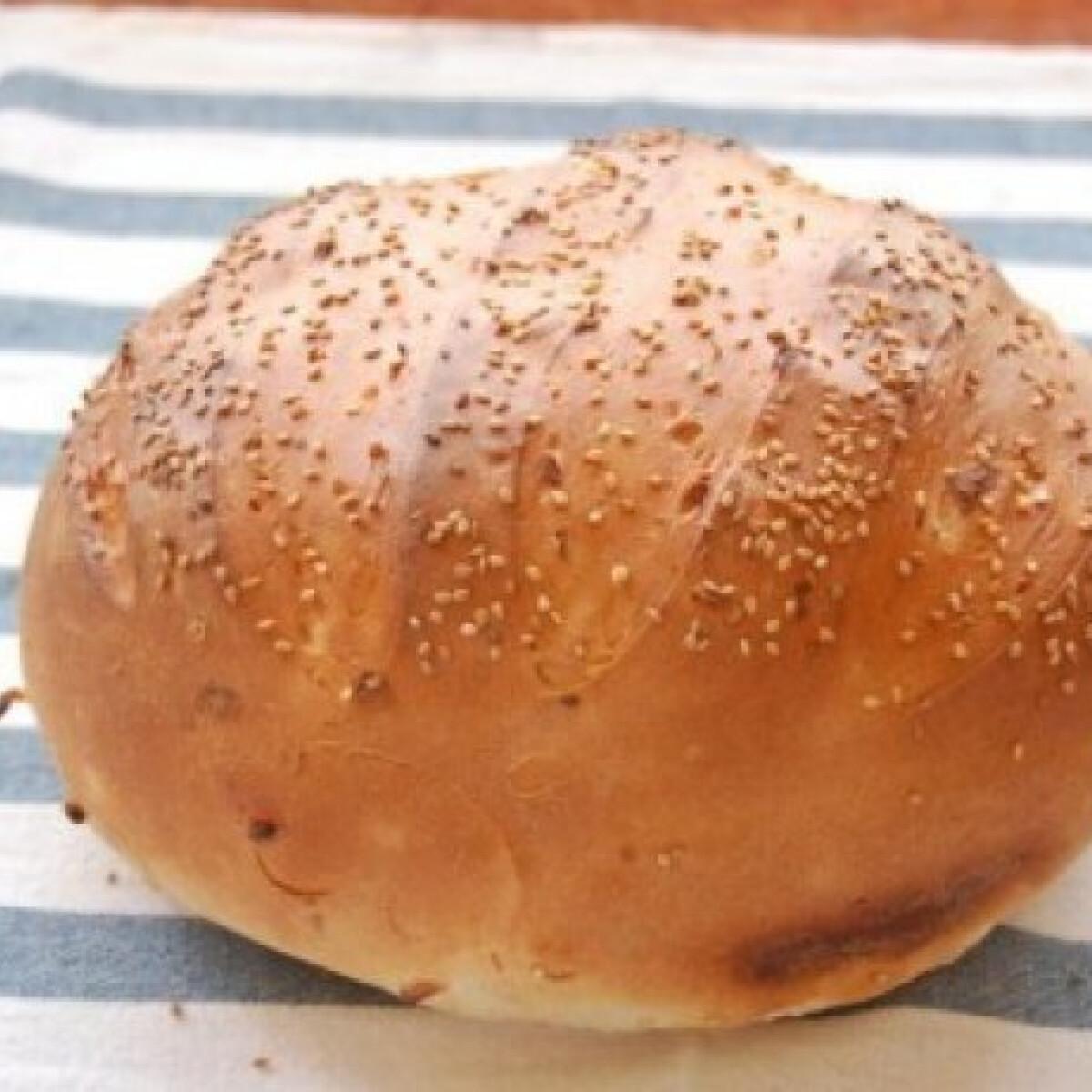 Ezen a képen: Burgonyás cipó - Burgonyás kenyér 4.