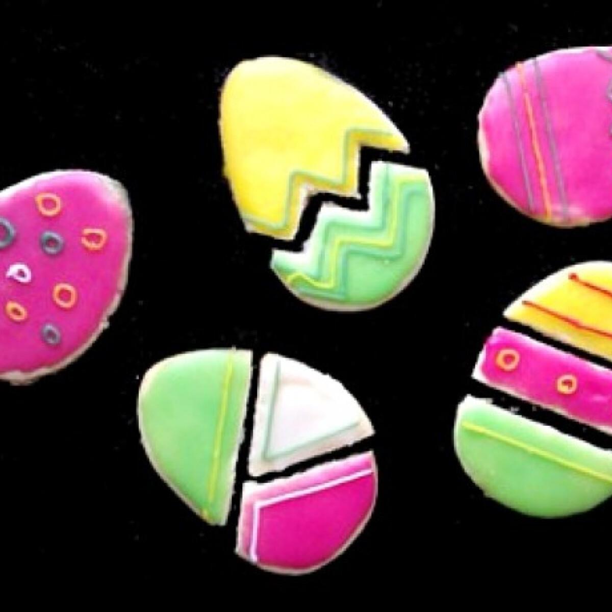 Ezen a képen: Húsvéti tojás puzzle