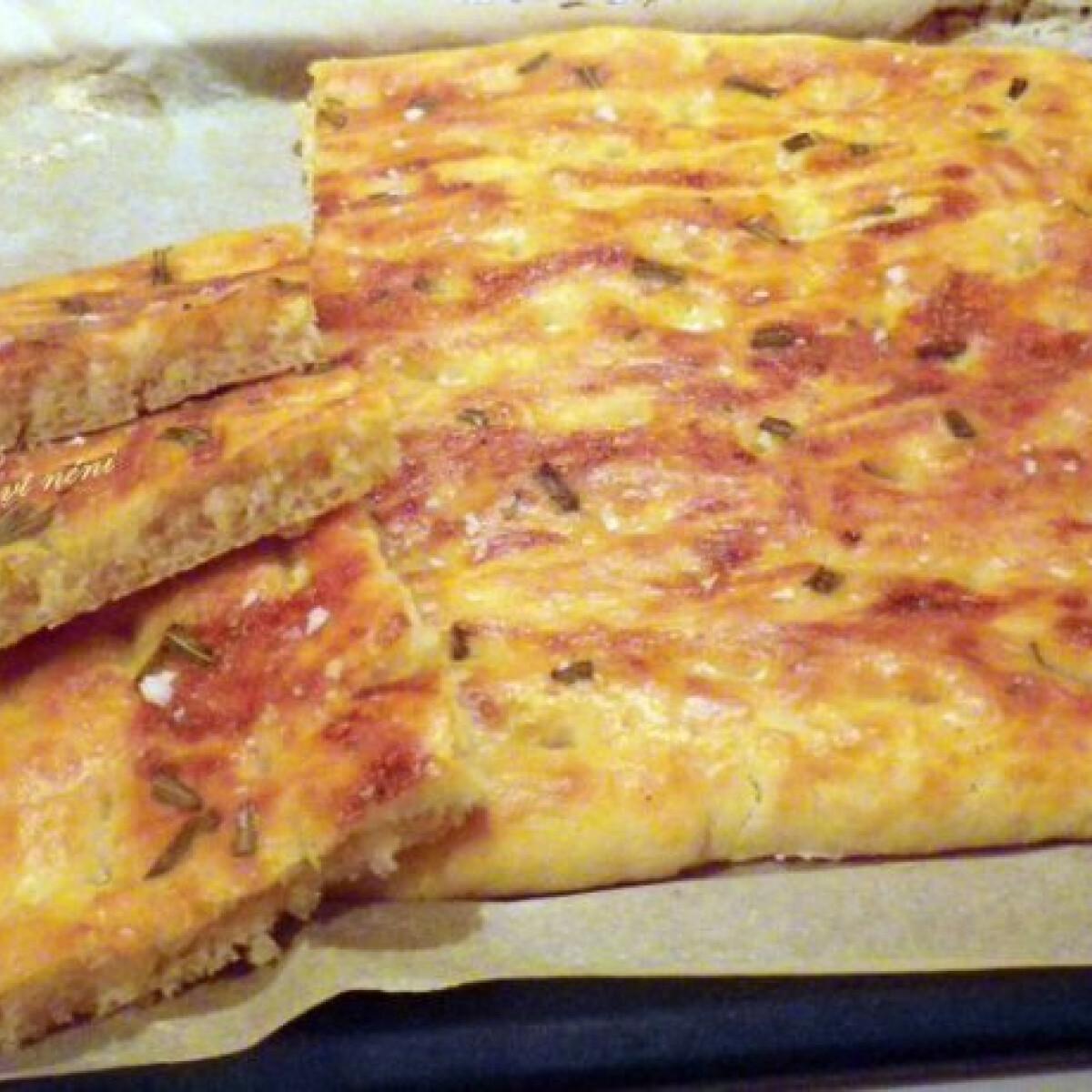 Ezen a képen: Focaccia Évi néni konyhájából