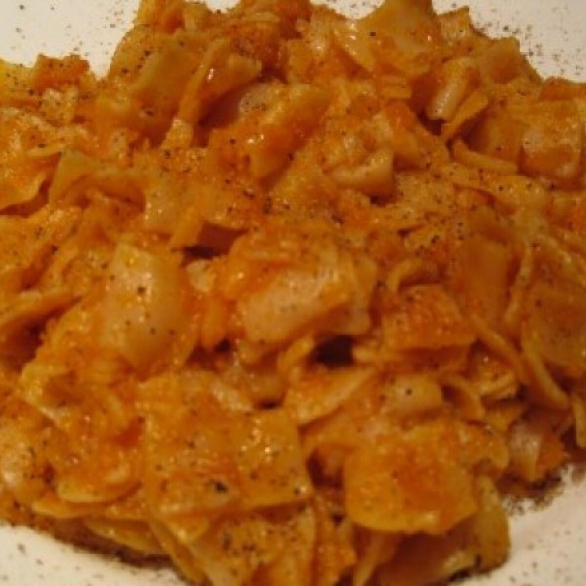 Ezen a képen: Krumplis tészta Katharosz konyhájából