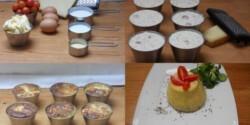 Paradicsomos-sajtos clafoutis