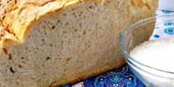 Kókuszvízzel dagasztott kenyér
