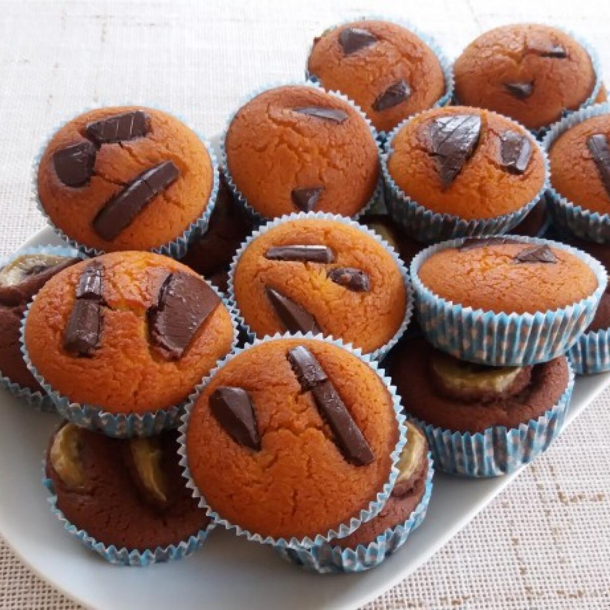 Ezen a képen: Tej- és gluténmentes muffin
