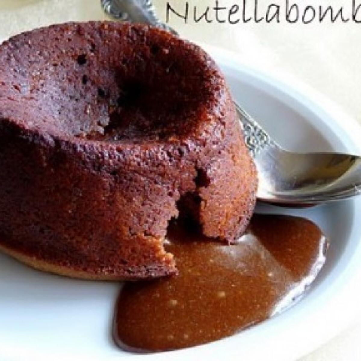 Ezen a képen: Nutellabomba