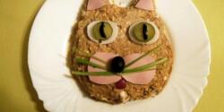 Macskafej alakú töpörtyűkrém