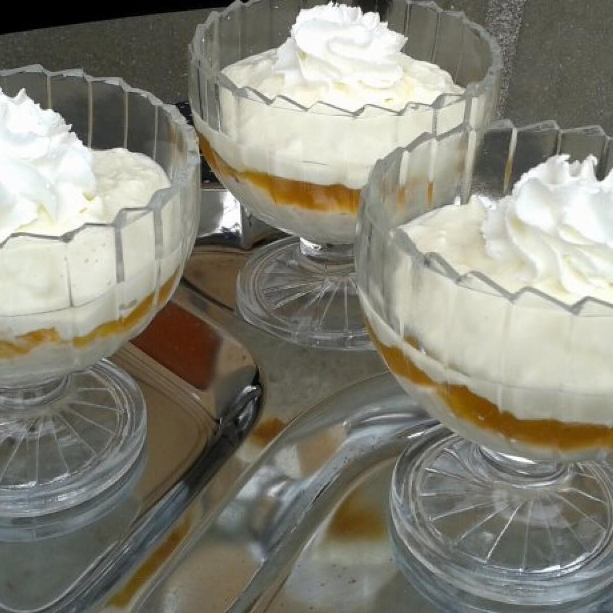Ezen a képen: Zabkása desszert tíz perc alatt