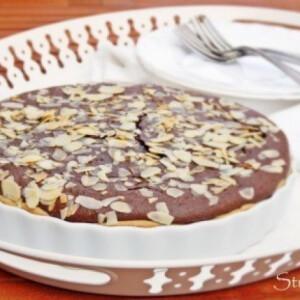Csokis-mandulás pite