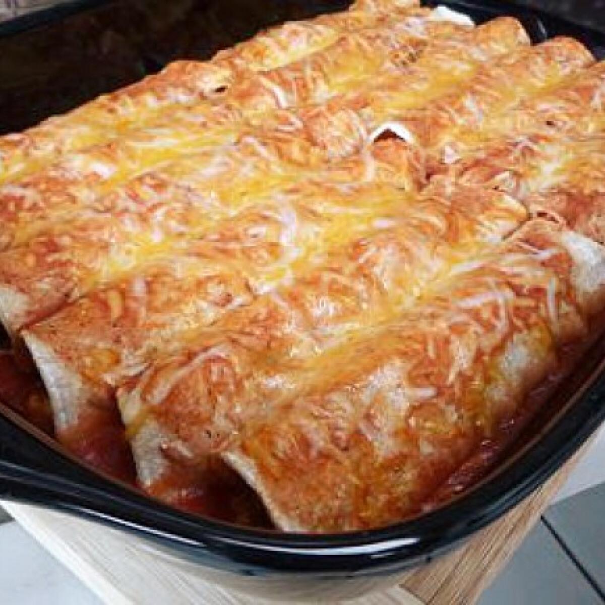 Ezen a képen: Steak enchilada