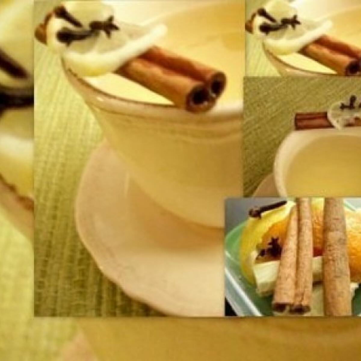 Ezen a képen: Gyömbéres citrusos tea 2.
