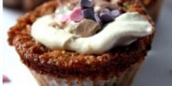 Sárgarépás muffin 2. - kókuszos